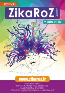 Affiche du festival Zikaroz à Quintin
